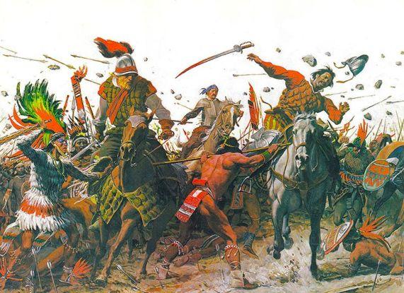 aztec vs conquistadors